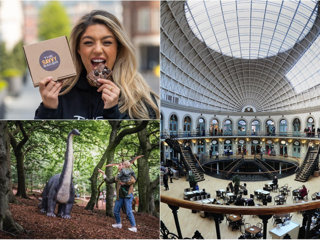 From The Savvy Baker to Totally Roarsome and a market at Leeds corn exchange, here's what's happening in Leeds this weekend