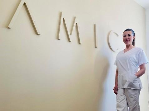 Claire Raby, owner of Amica Aesthetics which has opened a new salon in Leeds