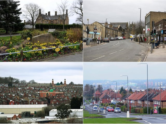 The areas where house prices have soared in the past year.