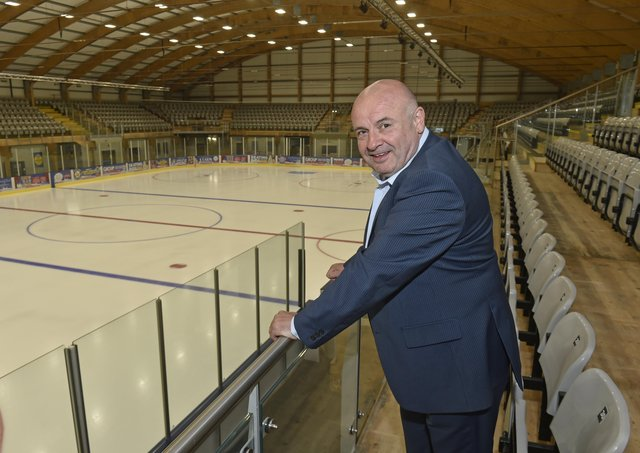 DAWN OF A NEW ERA: Steve Nell, the new owner of Leeds' NIHL National hockey team. Picture: Steve Riding.