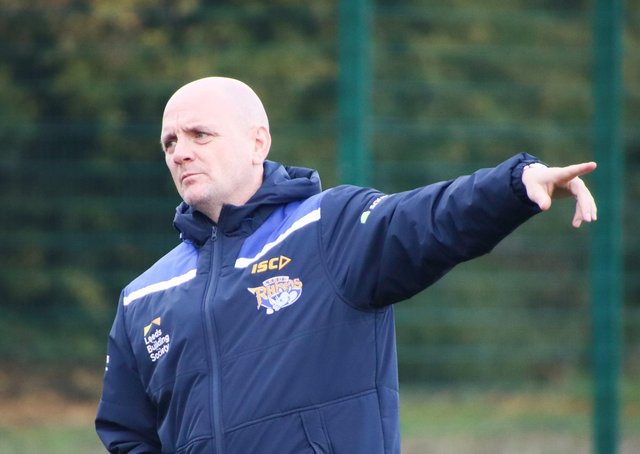 UNRUFFLED: Leeds Rhinos head coach Richard Agar. Picture: Phil Daly/Leeds Rhinos/SWpix.com.