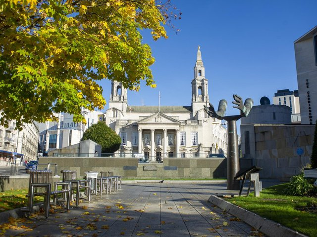 The Electoral Commission has issued advised for voters ahead of the Leeds local elections next week. Pictured: Leeds Civic Hall in Millennium Square.