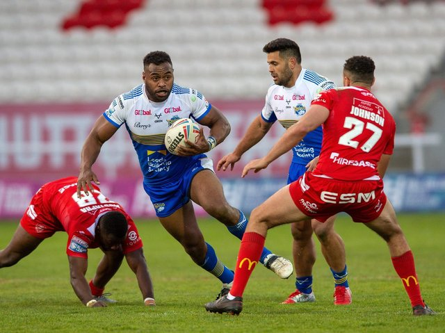 King Vuniyayawa had a strong game against Hull KR last week. Picture by Bruce Rollinson.