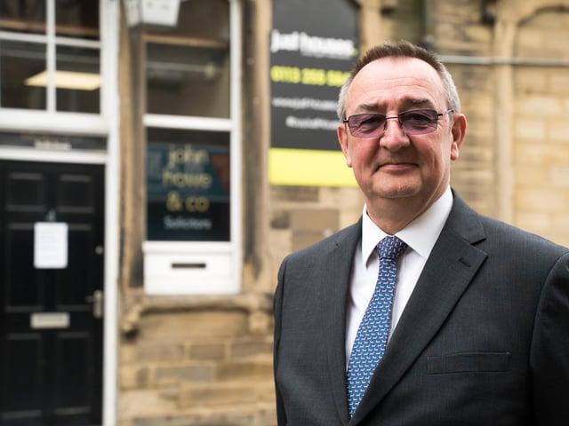 Managing Director of Pudsey-based law firm John Howe & Co, John Howe.