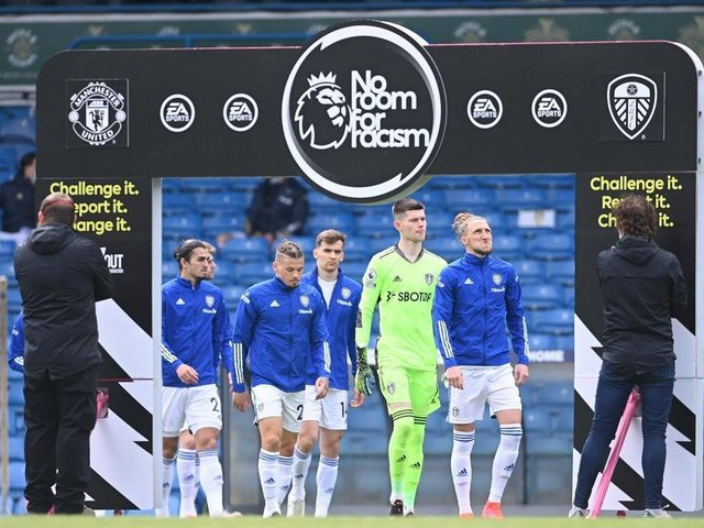eeds United and the rest of English football will unite for a social media boycott in response to racist abuse directed at players and others. Pic: Getty
