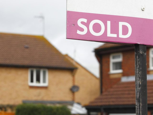 Across the UK, the typical property value hit a peak of £238,831 in April, Nationwide Building Society said.