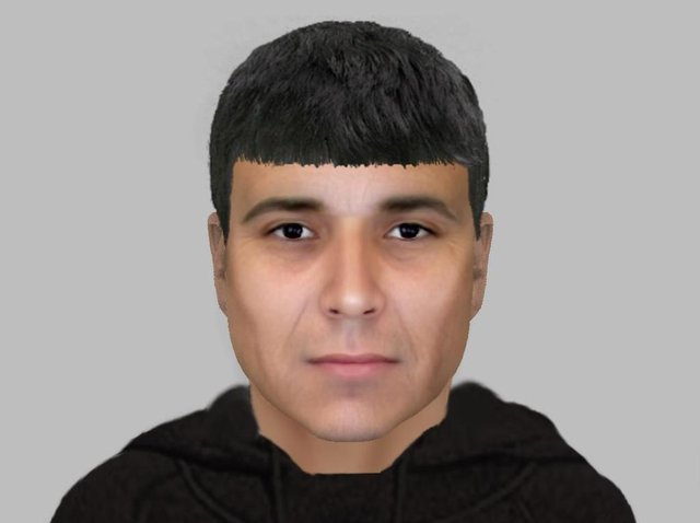 Police in Leeds have issued and e-fit of a man wanted in connection with an attempted burglary in Bramley.