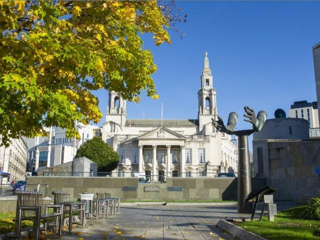 Leeds Civic Hall is the headquarters of Leeds City Council.