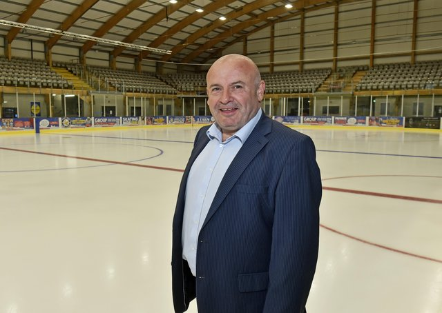 PLANNING AHEAD: Steve Nell, owner Leeds' NIHL National ice hockey team. Picture: Steve Riding.
