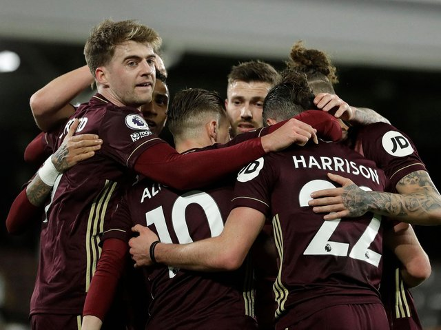 Leeds United celebrate. Pic: Getty