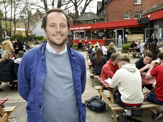Hyde Park Book Club owner Jack Simpson has a renewed sense of what the venue  means to Leeds (photo: Steve Riding)