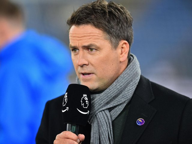 PREDICTION: From former England striker and now pundit Michael Owen. Photo by GLYN KIRK/AFP via Getty Images.