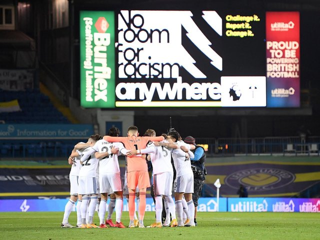Leeds United backed the social media boycott this weekend. Pic: Michael Regan/PA Wire.