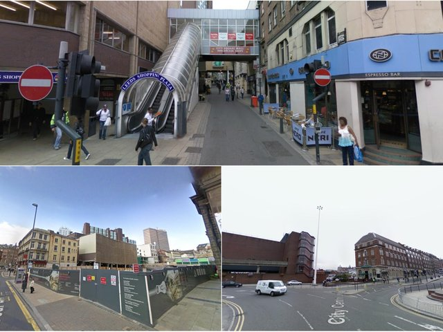 Google maps images show how much Leeds has changed in 12 years.
