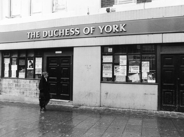 The Duchess of York in Leeds city centre was a popular venue where artists including  Steve Marriott of  Small Faces and Humble Pie fame played.