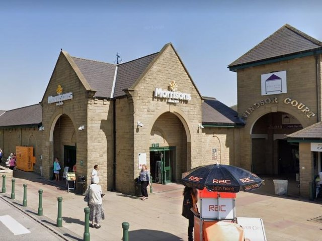 Police were called to a Morrisons store in Morley after receiving calls about a man with a knife. Photo: Google