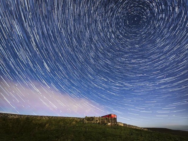 Skygazers in Leeds can look forward to seeing several shooting stars. PIC: PA