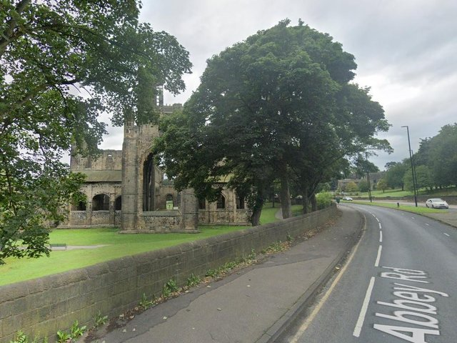 Emergency services are are currently at the scene in Kirkstall Abbey after reports of a woman in distress.