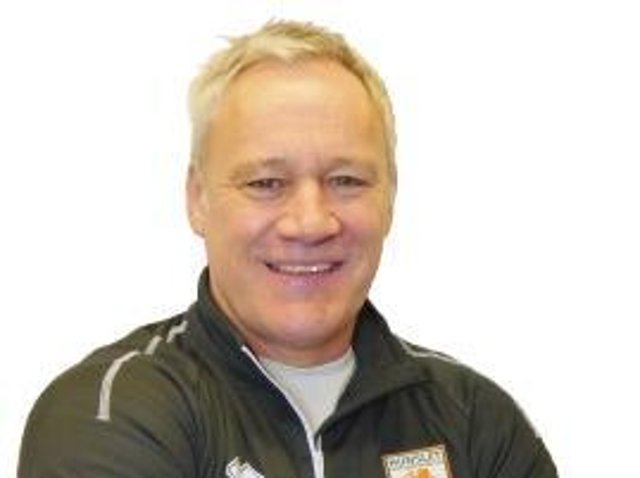 Hunslet coach Gary Thornton. Picture by Hunslet RLFC.