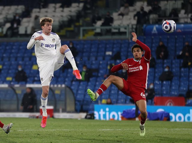 MANY TALENTS - Leeds United's leading goalscorer Patrick Bamford's piano skills have been showcased by former England striker Peter Crouch. Pic: Getty