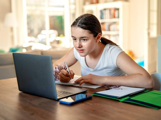 Understanding what your child likes is a good first step in helping to keep them safe online, says Helen Westerman. Picture: Tetiana Soares/Adobestock