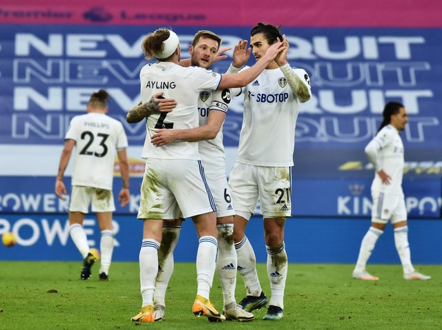 FINAL STAGES - Leeds United have four games remaining in their Premier League season. Pic: Getty