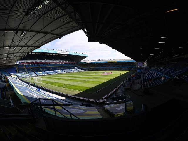 WELCOME BACK - A number of Leeds United season ticket holders are expected to return to Elland Road for the final game of the season against West Brom. Pic: Getty