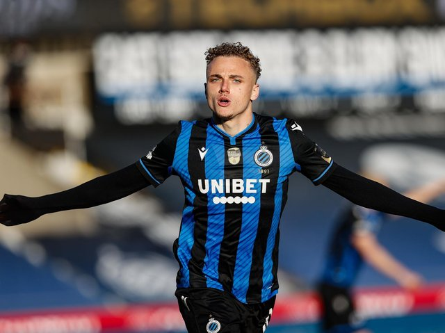 EXCITING NAME - Noa Lang, Club Brugge's on-loan wing wizard, is one of the exciting talents catching the eye of Leeds United ahead of their second season in the Premier League. Pic: Getty