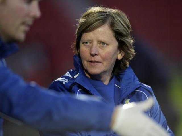 LEGENDARY FIGURE - The former Leeds United Ladies manager Julie Chipchase. Pic: Getty