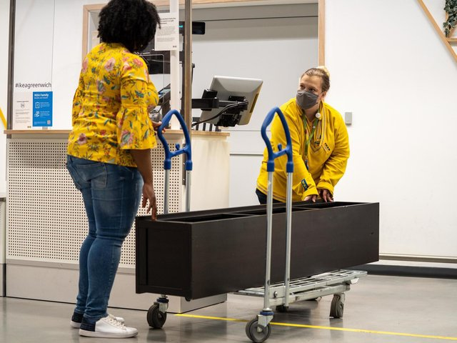 """Ikea has launched its delayed """"Buy Back"""" scheme allowing customers to sell their old furniture back to the retailer. PA"""