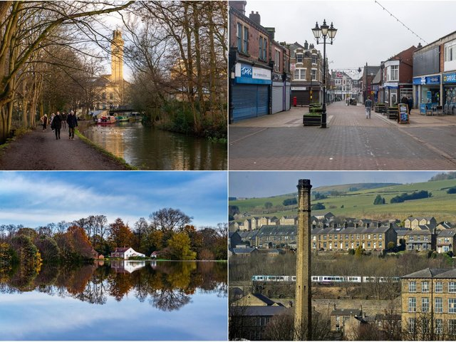 Here are 20 places that are within an easy drive, train or busy journey into Leeds: