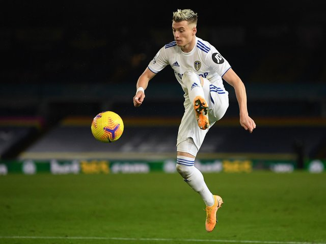 UNCERTAIN FUTURE - Gjanni Alioski is yet to sign the deal on the table and Leeds United boss Marcelo Bielsa is unclear on the North Macedonian's future. Pic: Getty