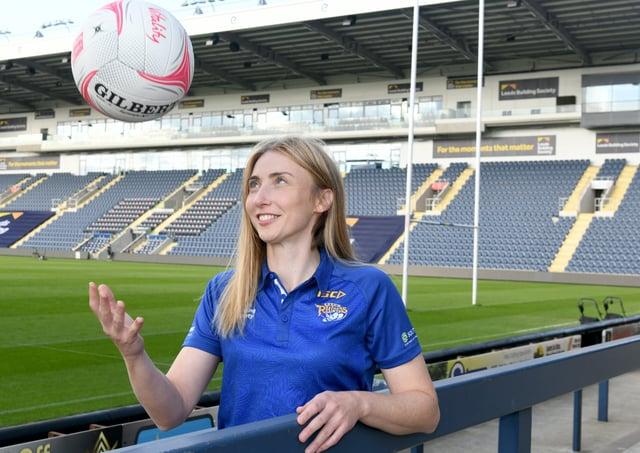 Leeds Rhinos co-captain, Jade Clarke. Picture: Gary Longbottom/JPIMedia.