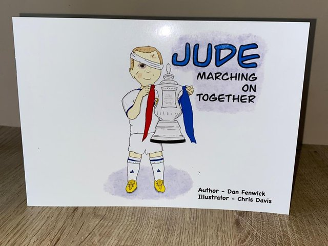 The book, written by a family friend and aptly called Marching On Together, follows the antics of the Whites and features cameos from Patrick Bamford and manager Marcelo Bielsa.