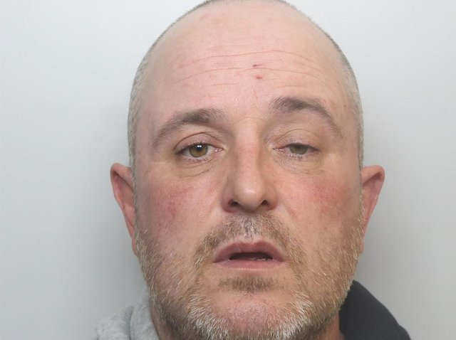 David Smith was jailed for 20 months for attacking his partner.