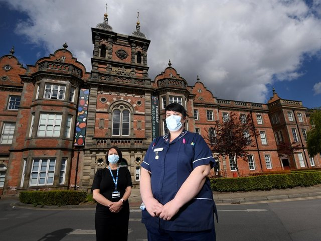 Lead Nurse Rhian Wheater and Director of Nursing Penny McSorley at the Thackray Museum of Medicine on Beckett Street as it prepares to close its as a vaccination hub.