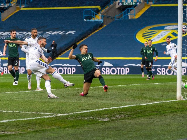 KNOWN QUALITY - Stuart Dallas has been a consistent performer and provider of goals for Leeds United this season. His strike against Tottenham Hotspur was his eighth of the season. Pic: Bruce Rollinson