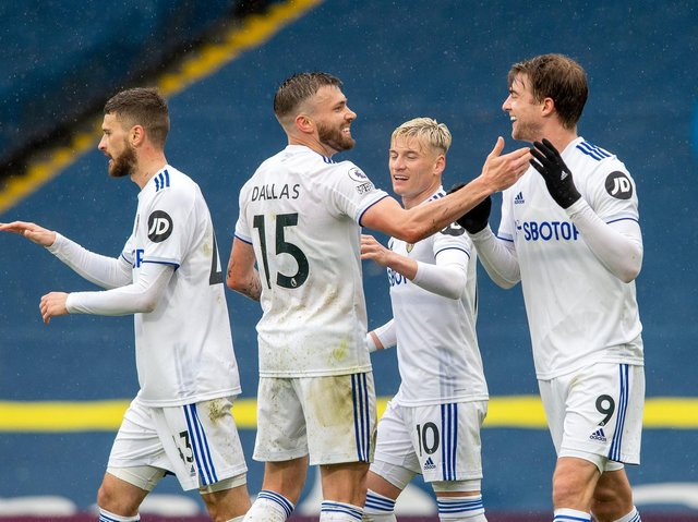 EQUAL FOOTING - Marcelo Bielsa said Leeds United finally showed they can compete as equals with top sides, something he thought was possible this season. Pioc: Bruce Rollinson