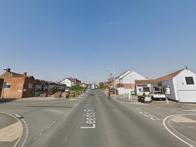Leeds Road, Allerton Bywater (photo: Google).