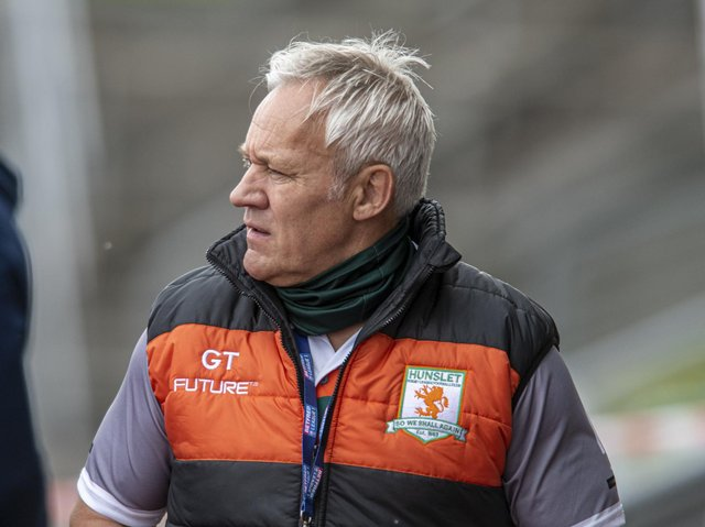 Hunslet coach Gary Thornton. Picture by Tony Johnson.