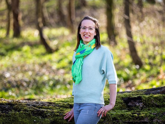 Abi Fenton has trained as a holistic healer after discovering natural therapies during her own mental health crisis.