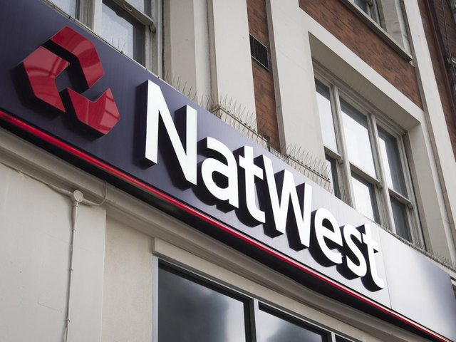 Library image of a branch of NatWest