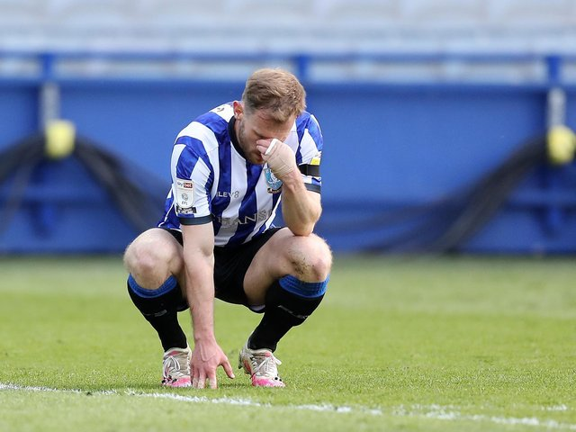 SYMPATHY: For former Leeds United defender Tom Lees, above, following his relegation to League One with Sheffield Wednesday. It could have been very different for him. Photo by George Wood/Getty Images.