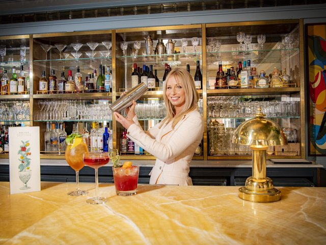 The Ivy in the Victoria Quarter in Leeds' has new cocktails and operations manager Laura Mills tries them out (photo: Tony Johnson)