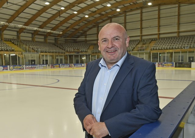 ANNOUNCEMENT: Steve Nell, new owner Leeds NIHL National team, expects to reveal his new head coach by the end of the week. Picture: Steve Riding.