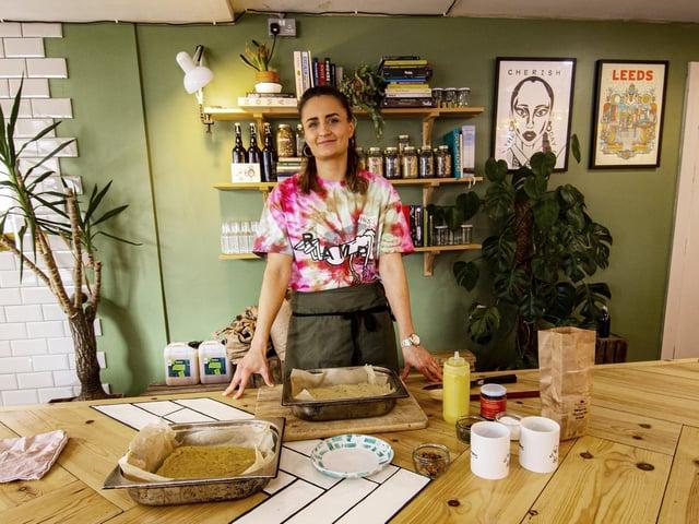 Jade Crawley, head chef at Leeds restaurant Eat Your Greens