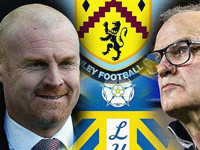 TURF MOOR BATTLE: Between Burnley boss Sean Dyche, left, and Leeds United head coach Marcelo Bielsa, right. Graphic by Graeme Bandeira.