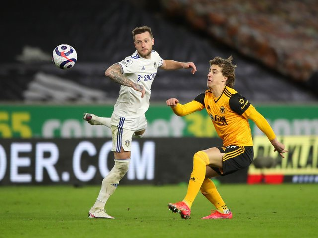 FIT AGAIN - Liam Cooper has missed four games for Leeds United through suspension and a minor knock but is healthy again ahead of the trip to Burnley. Pic: Getty