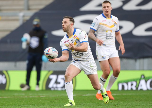 Luke Gale is back from injury this weekend. Picture by Alex Whitehead/SWpix.com