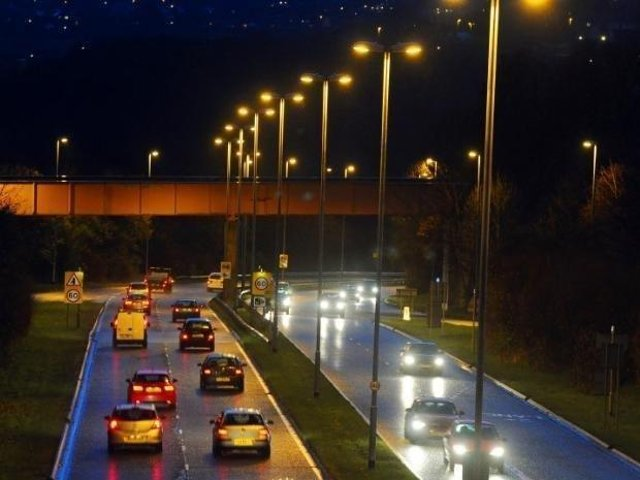 Stanningley Bypass stock image
